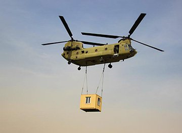 Mobile Outsized Helicopter Lifts